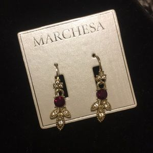 NWT Red Stone Earrings